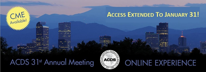 ACDS Annual Meeting Online Experience